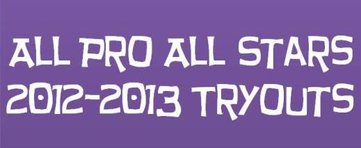 All Pro All Stars Tryouts